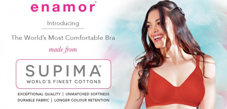 Enamor® Supima Cotton Bras