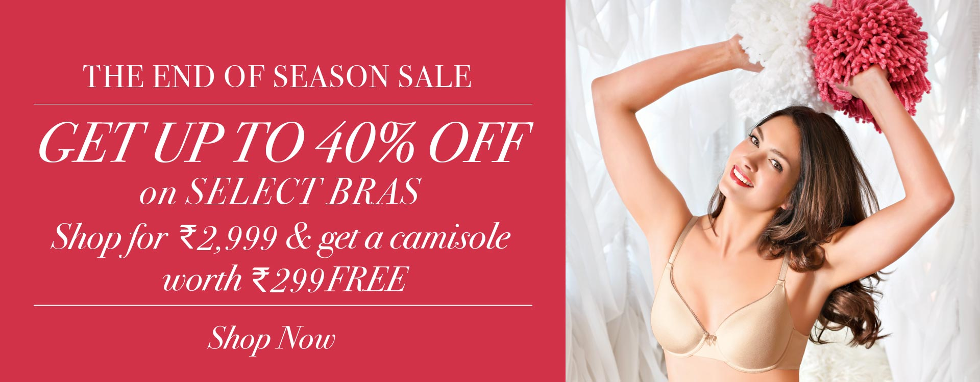 Enamor® End Of Season Sale - Get up to 50% Off Essentials